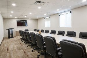 Conference Room Gathering Place By The Grand