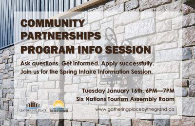 Community Partnerships Program Info Session