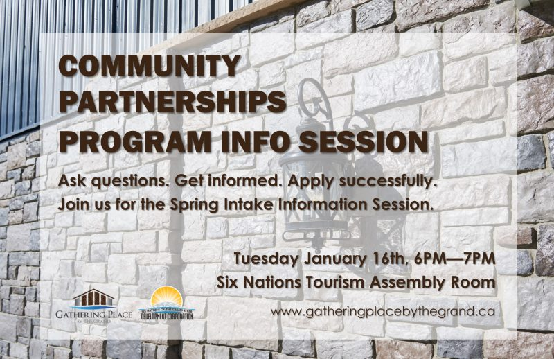 Community Partnerships Program Info Session