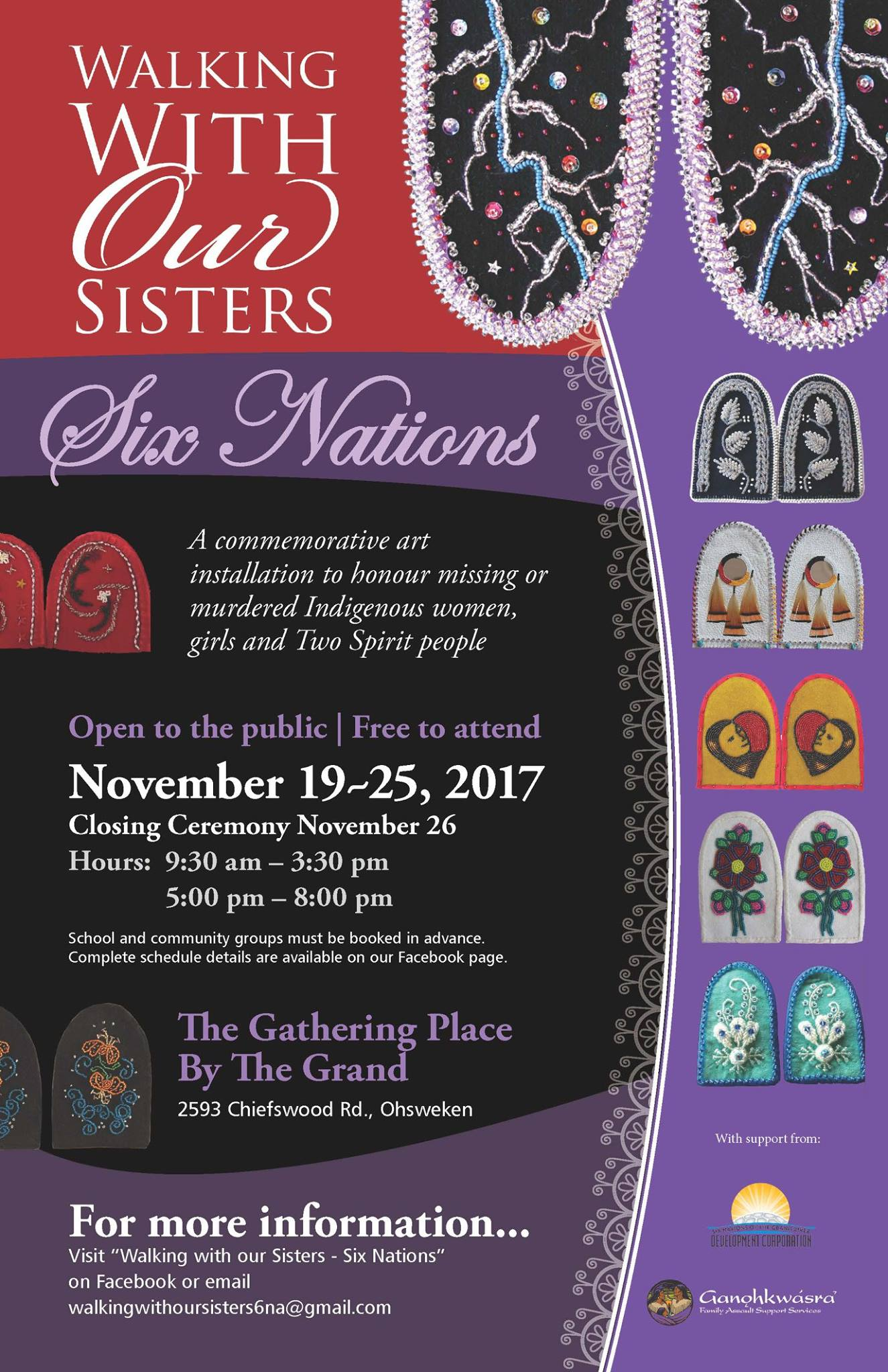 Walking With Our Sisters Six Nations