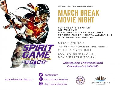March Break Movie Night: Spirit Game