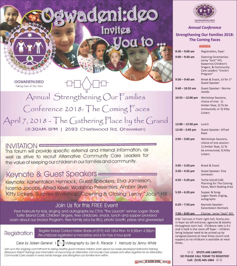 Strengthening Our Families Conference 2018