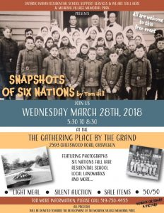 """Snapshots of Six Nations with Tom Hill"" Lecture"