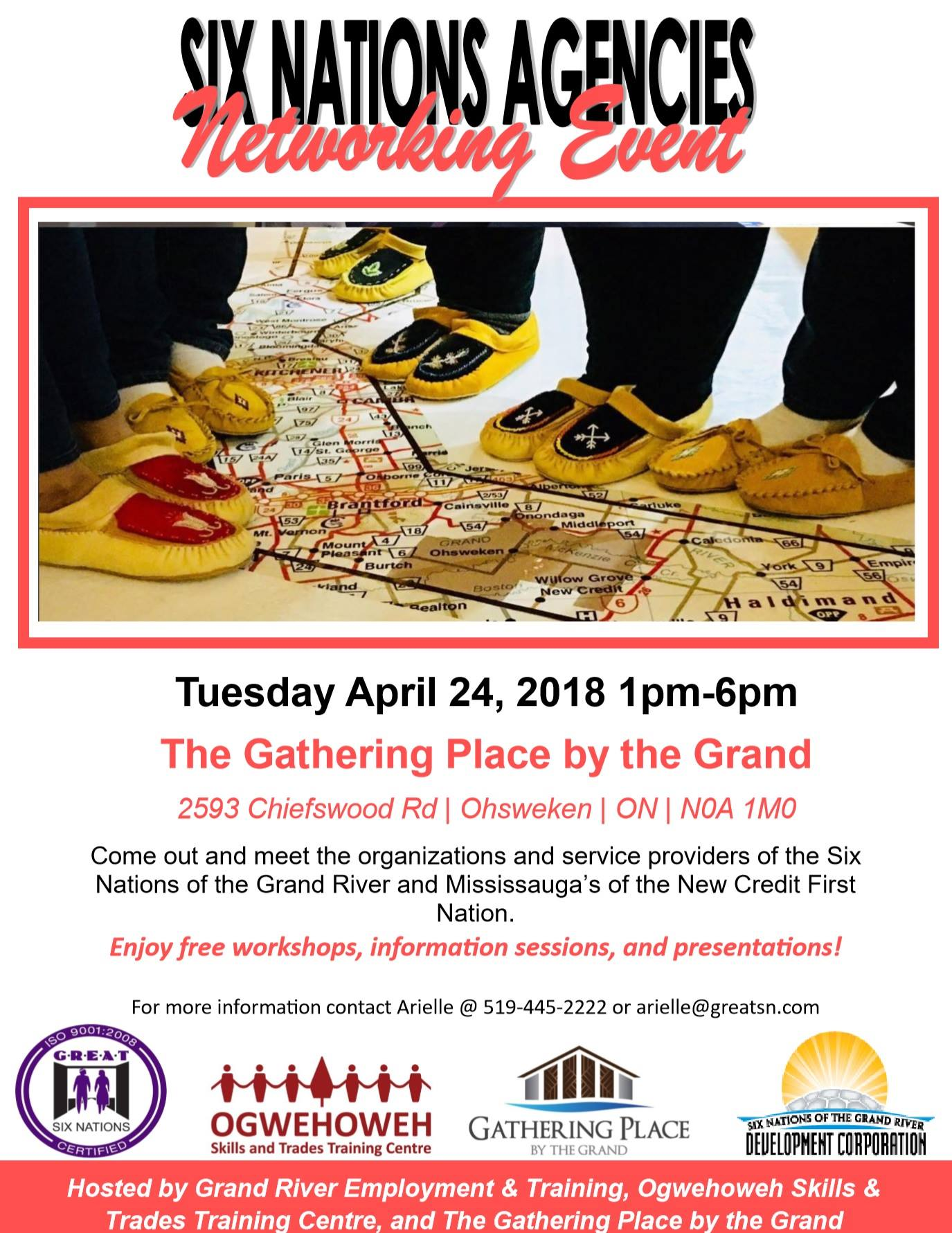 Six Nations Agencies Networking Event Poster