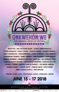 Onkwehon-We Lineup Poster