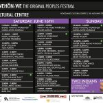 Original People's Festival Schedule