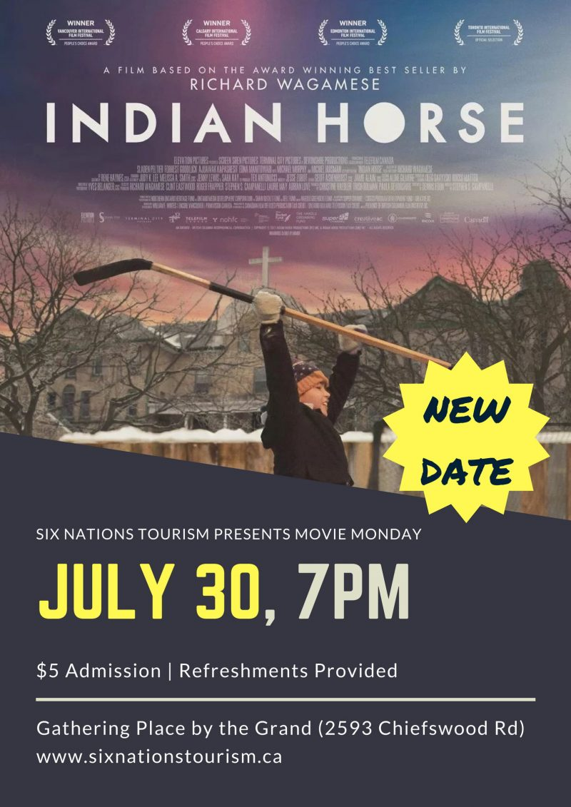 Six Nations Tourism Presents Movie Mondays: Indian Horse