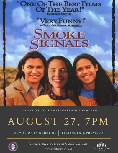 Six Nations Tourism Movie Monday presents Smoke Signals