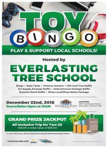 Six Nations Bingo Presents Toy Bingo in Support of Everlasting Tree School