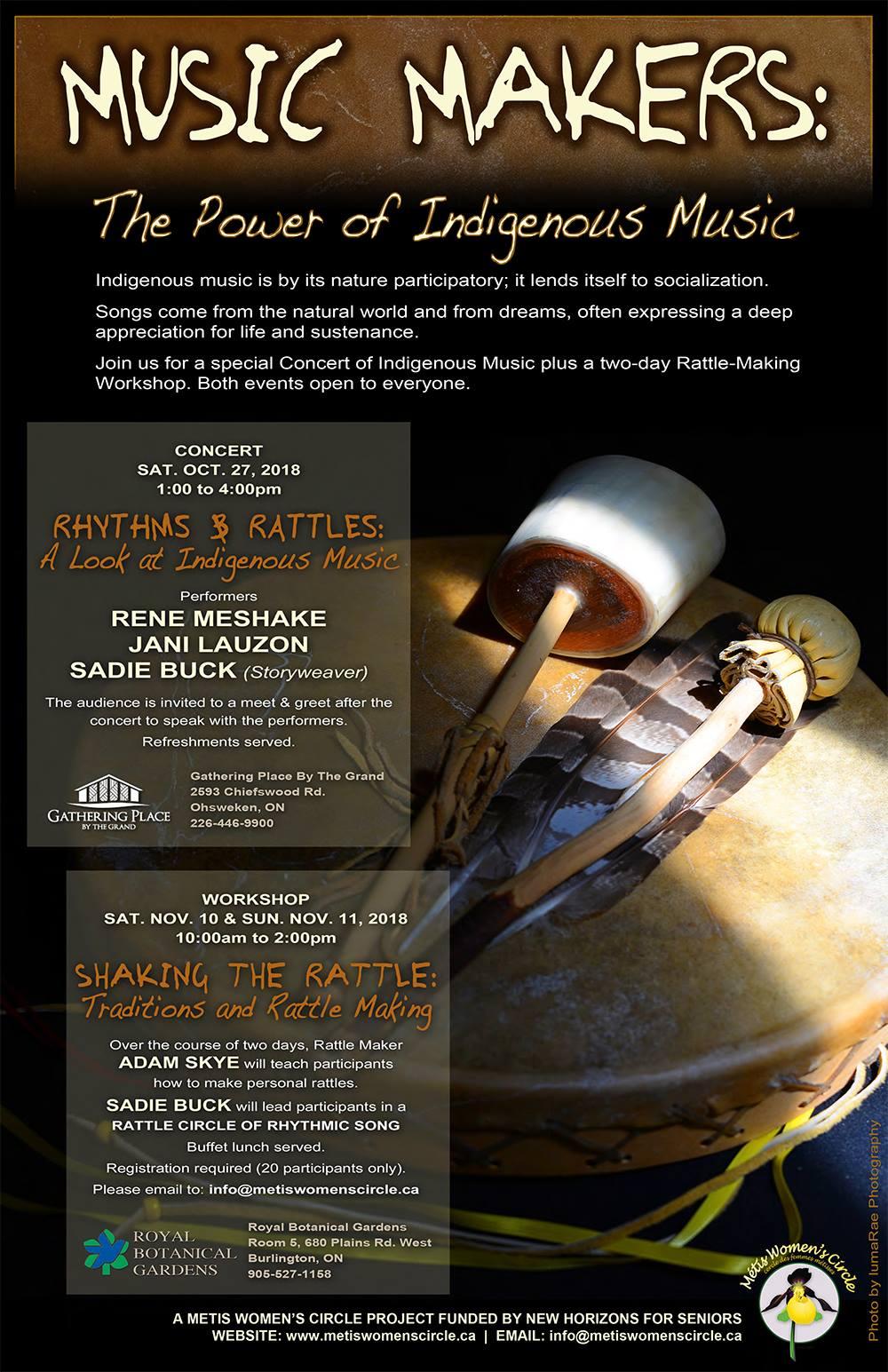 Rhythms and Rattles Concert