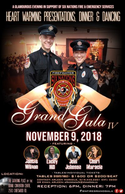 Six Nations Fire & Emergency Services Grand Gala Poster