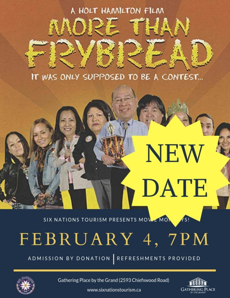 "Six Nations Tourism Presents Movie Monday: ""More Than Frybread"""