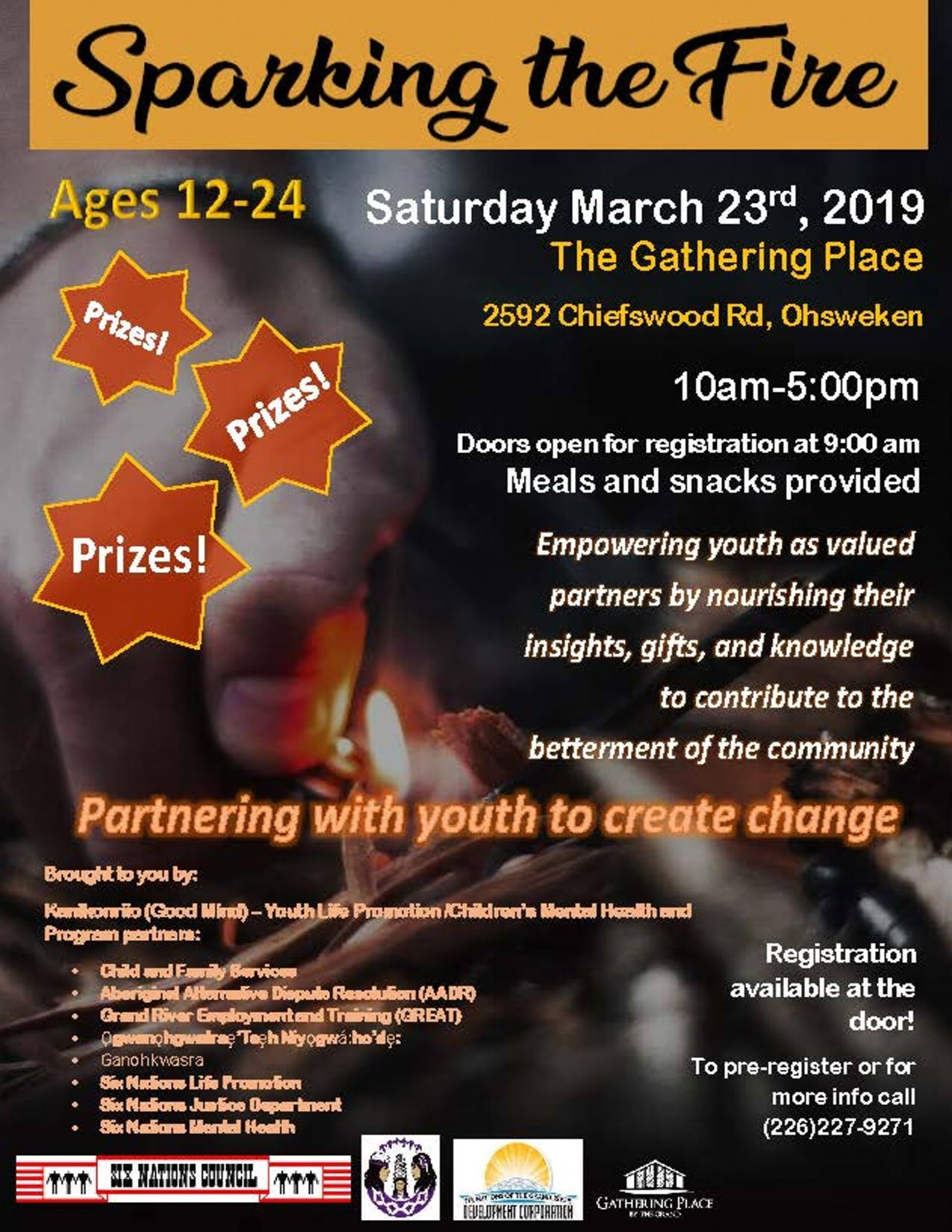 Sparking The Fire Youth Conference Poster
