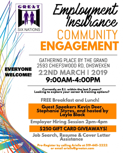 GREAT Employment Insurance Community Engagement
