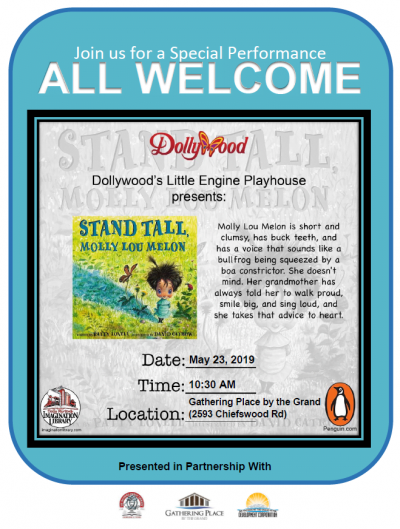 Stand Tall, Molly Lou Melon Theatre Play Poster