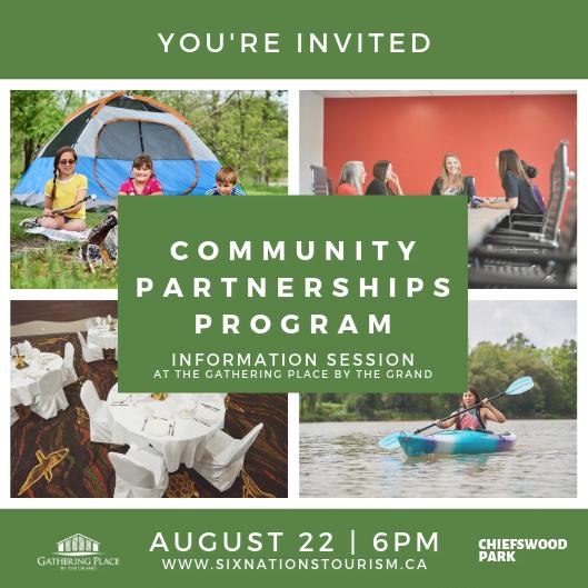 Community Partnerships Program Information Session Invite