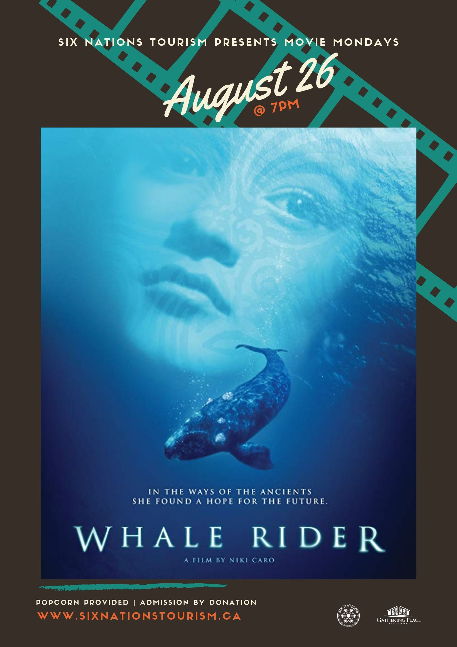 Six Nations Tourism Presents Movie Monday: Whale Rider
