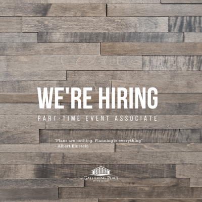 Gathering Place - We're Hiring