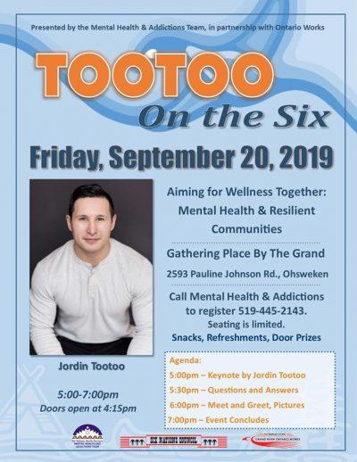 Jordin Tootoo Event Poster