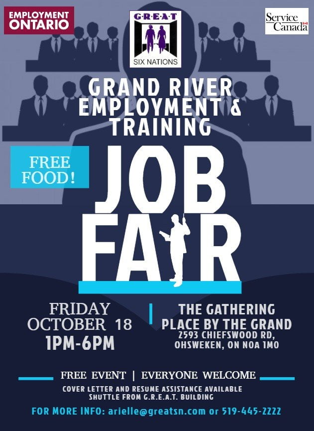 GREAT Job Fair 2019 Poster
