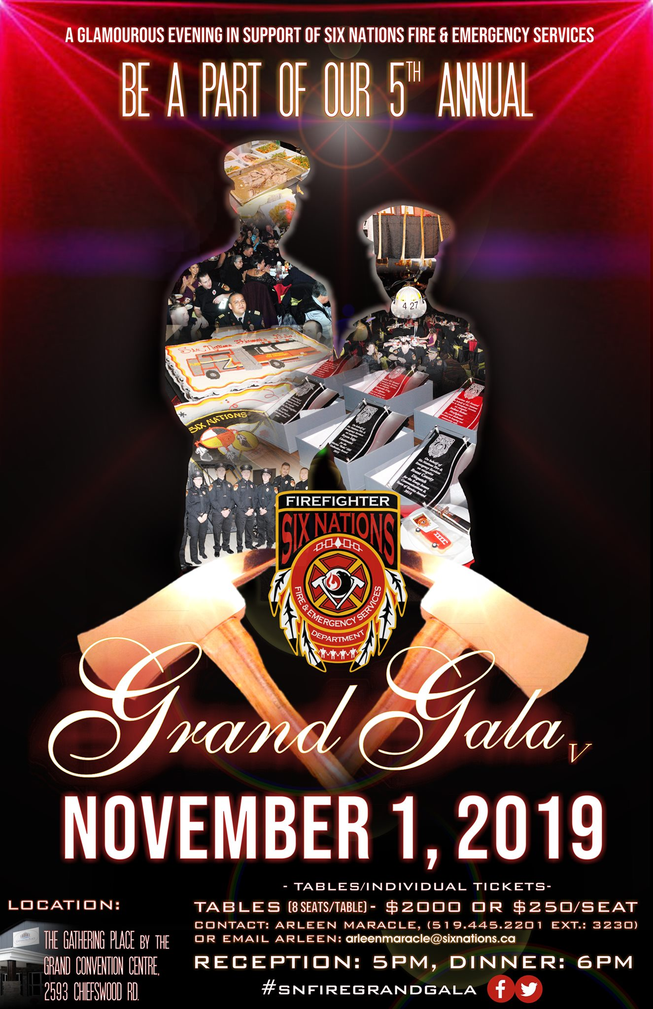 Six Nations Fire Department Gala Poster