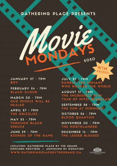 Gathering Place Movie Monday Schedule 2020