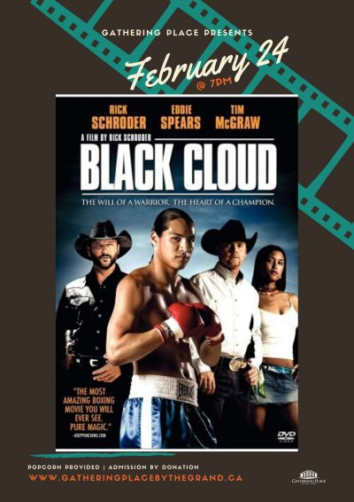 Movie Monday Presents Black Cloud Poster